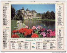 calendrier 1986