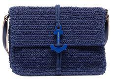 anchor-accented Balenciaga clutchski