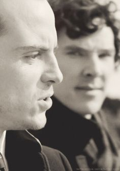 Sherlock & Moriarty. This was not ok, yet very ok at the same time.