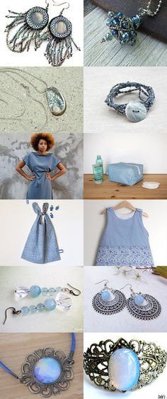 Pantone Fall 2016 Airy Blue  by Guilaine Grémy on Etsy--Pinned+with+TreasuryPin.com