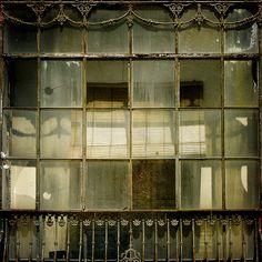 antique window in Spain