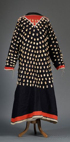Plains Woman's Cloth Dress | Sale Number 2506, Lot Number 324 | Skinner Auctioneers