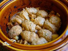 Vegan Crunk: Slow Cookin' Rustic Potpie Topped with Chive Biscuits from Fresh From the Vegan Slow Cooker
