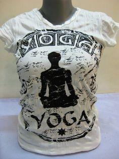 Das T-Shirt Infinitee Yoga Stamp für Frauen von Sure Design aus Thailand