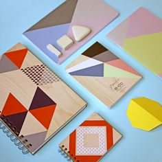We love a geometric design, we love it even more on a notebook!