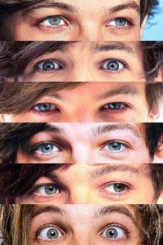 """""""Louis' eyes, there was flames at the start, then he brought so much light they tarted to burn out"""" One Direction Collage, One Direction Louis, Niall Horan, Zayn Malik, Louis Tomlinsom, Louis And Harry, Louis Tomlinson Eyes, Tomlinson Family, Bon Point"""