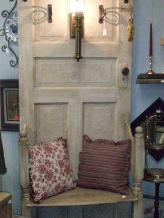 old door hall tree- Doing and I have the door!