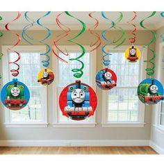 Thomas & Friends Swirl Decorations | 12 ct