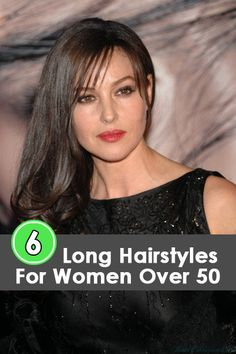 Long Hairstyles For Women Over 50