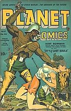 Planet Comics, launched in 1940, was the first science fiction comic book.
