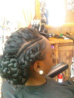 Godess braid
