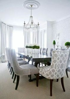 My favorite of all the dining rooms!