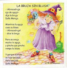 Poema: La Bruja Sin Blusa | Proyecto Educere
