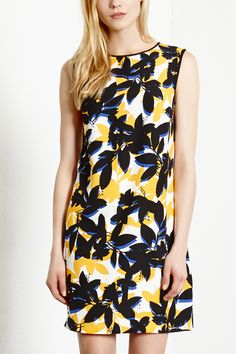 Dresses | Other SHADOW FLORAL SHIFT DRESS | Warehouse