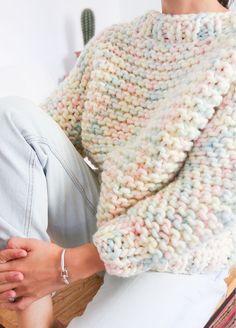 Knitting Kits, Knitting Projects, Crochet Projects, Hand Knitting, Knit Vest Pattern, Sweater Knitting Patterns, Crochet Patterns, Mode Crochet, Knit Crochet