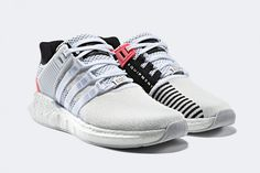 quality design 8f674 72911 adidas EQT Support 9317 (WhiteTurbo Red) - Sneaker Freaker