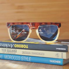 Sunny weekends with The Bennet in Tortoise/Ivory. Available at www.komono.com and stores near you.