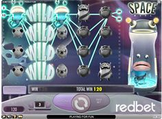 10 Free Spins On The New 3D Video Slot Space Wars For New Redbet Casino Players (Net Entertainment)