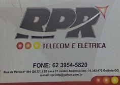 Eu recomendo RPR Telecom- Jardim Atlântico, #Goiânia, #Goiás, #Brasil