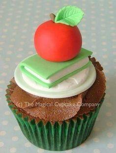 Cupcakes para maestros