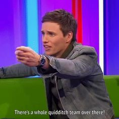 Addicted to Eddie: Nov. 2016 - The One Show Fantastic Beasts interview