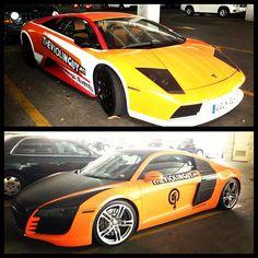 Top or bottom?? #AudiR8