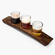 What else would you do with old wine barrel slats? Portland 3 Taster Beer Flight Clear $45