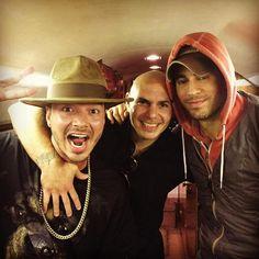 J Balvin, Pitbull, and Enrique Iglesias #SEXANDLOVETOUR