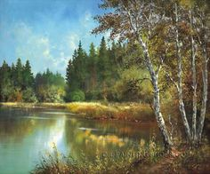 "Hand Painted Classical Paintings Reproduction Landscape Oil Painting, Size: 36"" x 24"", $118. Url: http://www.oilpaintingshops.com/hand-painted-classical-paintings-reproduction-landscape-oil-painting-2159.html"