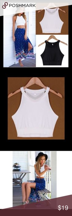 🆕🔥🔥 Sexy Crop Top O-Neck collar, made with cotton blend, and oh sooo sexy, this gorgeous top has just arrived in my boutique!! It compliments breasts and curves so nicely. Must have shirt! Looks amazing with pants, shorts, leggings, or a skirt! BUNDLE TO SAVE! Brandy Melville Tops Crop Tops