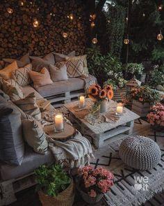 Outdoor Rooms, Outdoor Living, Outdoor Furniture Sets, Outdoor Decor, Balcony Design, Garden Design, House Design, Backyard Patio Designs, Home Decor Inspiration