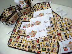 Enxoval de Cozinha - 8Pçs. Cada Kit Contém: - 3 Panos de Prato (45x72cm) - 1 Avental Xadrez (65x52cm) - 1 Luva Acolchoada (32x22cm) - 1 Cesta para Pães Grande (23x23cm) - 1 Cesta para Pães Médio (20x20cm) - 1 Cobre Pão (30x30cm) =Cor do Produto: Estampado Amarelo =Descrição: Confeccionado em 100% algodão, todas as peças são forradas. Os panos de prato são em sacaria de primeira qualidade em tamanho grande com barrado em tricoline, fitas, rendas e bordado computadorizado. ...