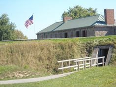 9 June 1813 - Americans abandon Fort Erie - Old Fort Erie Ontario