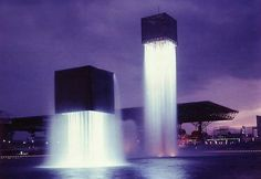 Noguchi 9 floating fountains  Fountains designed by Isamu Noguchi
