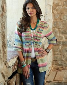 Molly Brown Tunic from Crow's Nest -