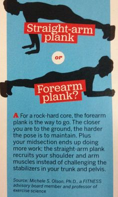 Did you know - planks