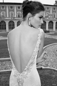 berta bridal winter 2014 wedding dress open back beadwork