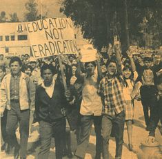 East LA Chicano Movement: In the Western liberal democratic traditions there were no textbook portrayals of the homegrown activism in our own communities.