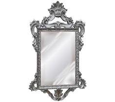 "Templar 39"" High Antique Silver Leaf Rectangular Wall Mirror | 55DowningStreet.com"