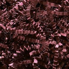 Custom and Unique {12 Ounces} of Crinkle Cut Shredded Gift Basket Filler Paper Made From Cardstock w/ Deep Burgundy Chocolate Tone Modern Elegant Fall Autumn Crimped Grass Scatter Design (Dark Red) >>> Details can be found by clicking on the image.
