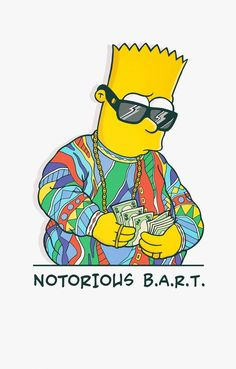 Bootleg Bart – An awesome mashup series between Simpsons and pop culture