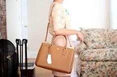 Accessorize | Prada Saffiano Tote on Pinterest | Prada, Prada Bag ...