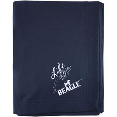 Beagle - Life Is Better With A Beagle Paws - Embroidered Sweatshirt Blanket