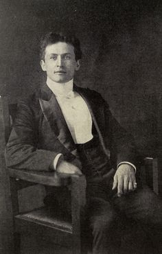 """Photo of Harry Houdini in his book """"The Unmasking of Robert-Houdin."""" NY: The Publishers Printing Co., 1908. First Edition   https://farm8.staticflickr.com/7740/18249809969_20fea590b6_b.jpg"""