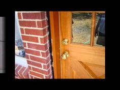 Exterior door installation by droppingtimber.com
