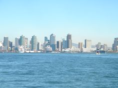 I will never forget...San Diego skyline.
