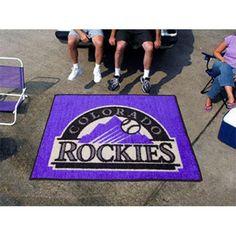 Colorado Rockies MLB Tailgater Floor Mat (5'x6')