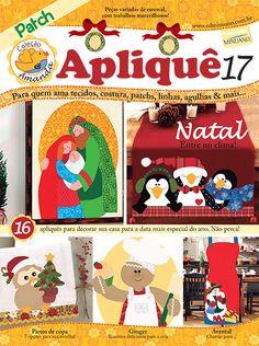 Artesanato - Apliquê - Patchwork : COL AMANDA APLIQUE 017 - Editora Minuano