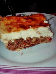 Lasagna, Food And Drink, Ethnic Recipes, Recipes, Lasagne