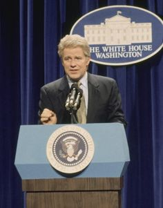Phil Hartman as Bill Clinton on SNL